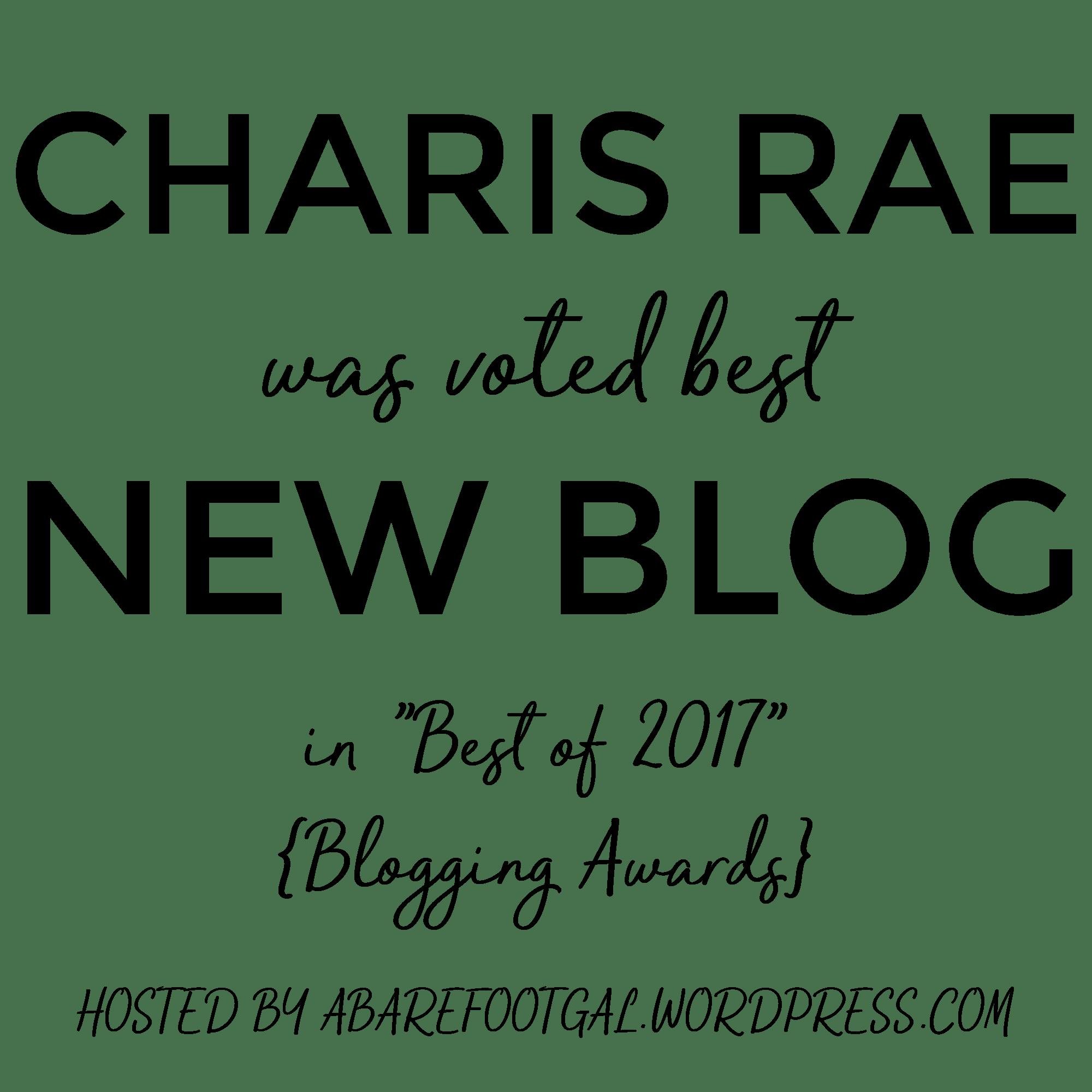 best new blog award